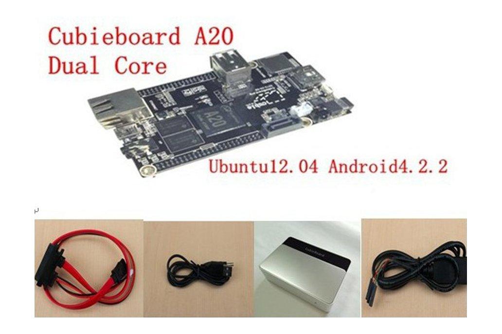 Dual Core Cubieboard (A20) 1