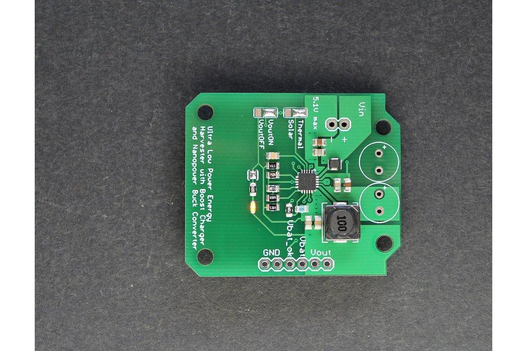 330mV BQ25570 start-up energy harvester 1