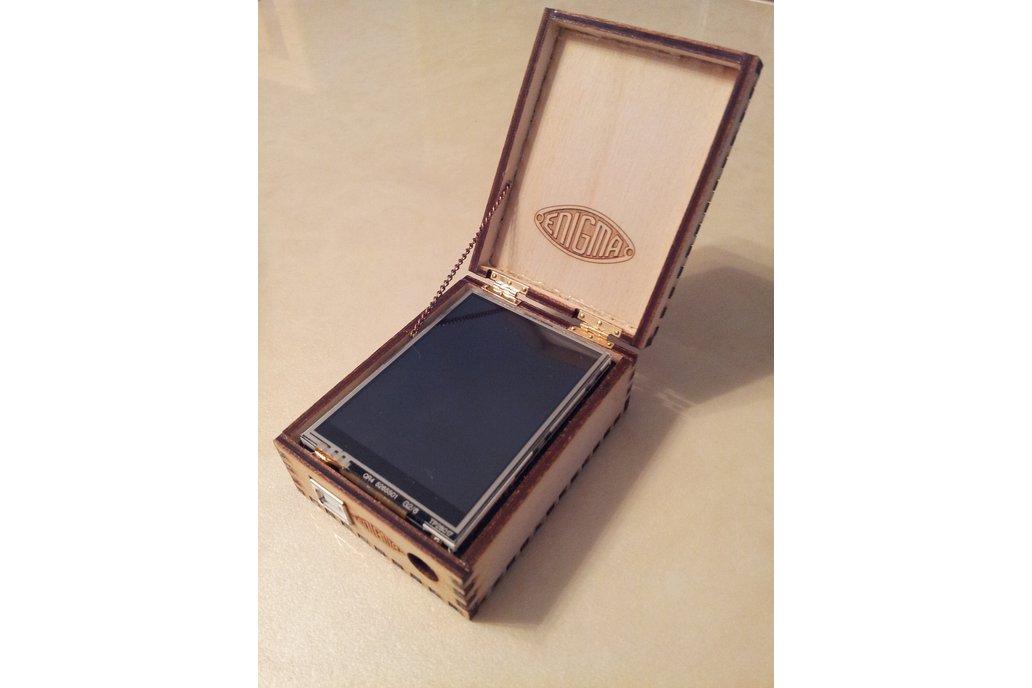 Arduino Enigma I, M3, M4 Machine Simulator w/ Case 1