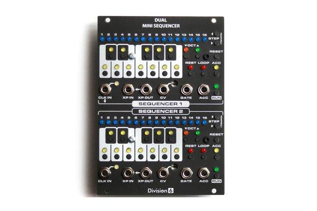 Division 6 Dual Mini Sequencer Eurorack Module