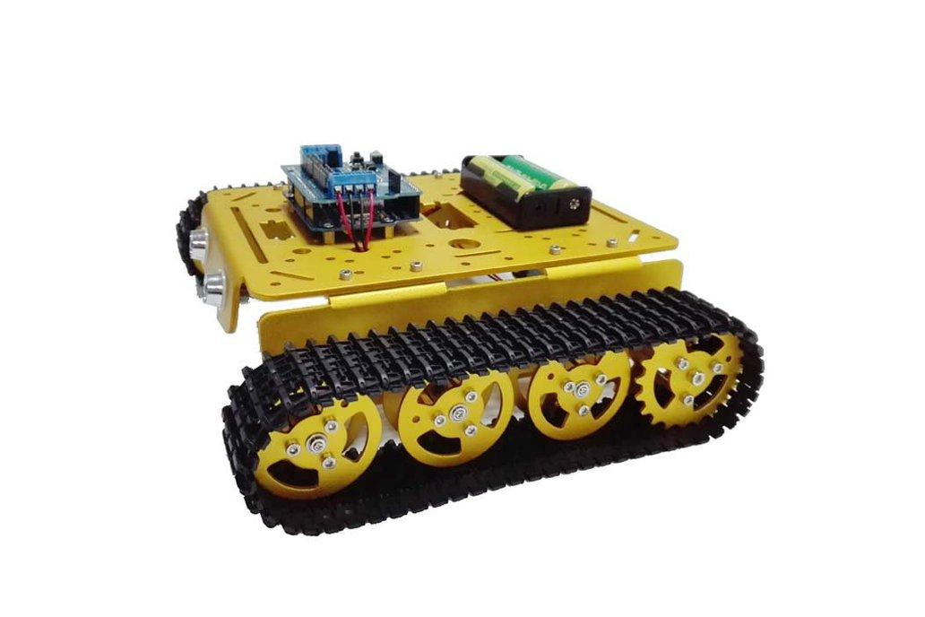 Arduino wireless wifi tank car kit 5