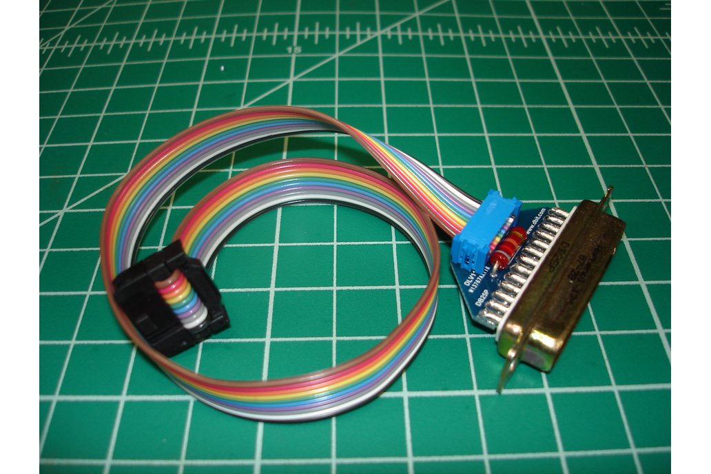 DLVDB25 DLV11-J RS-232 Adapter Cable 1