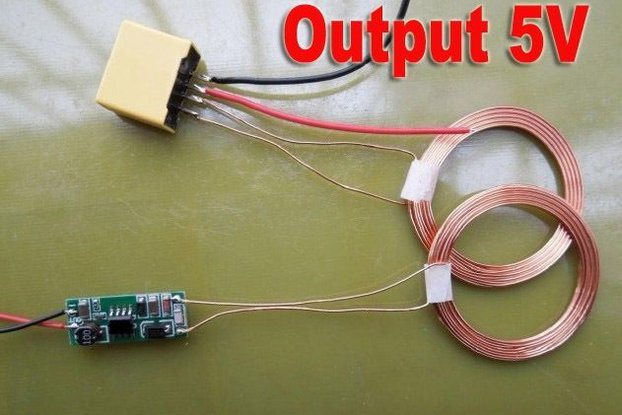 Wireless Power transfer 5V or 12V