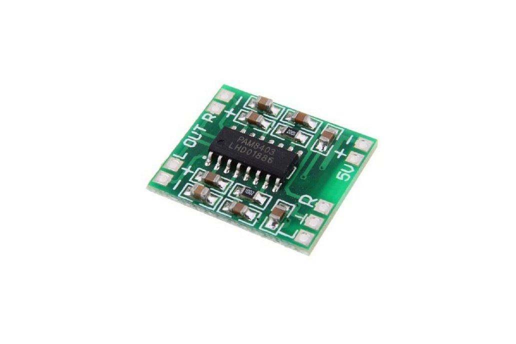 5pcs PAM8403 Miniature Digital USB Power Amplifier 1