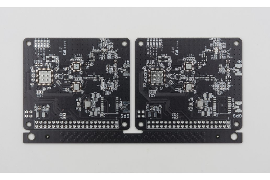 Bare PCB for RPi LoRa Gateway V3 - Two Boards 1