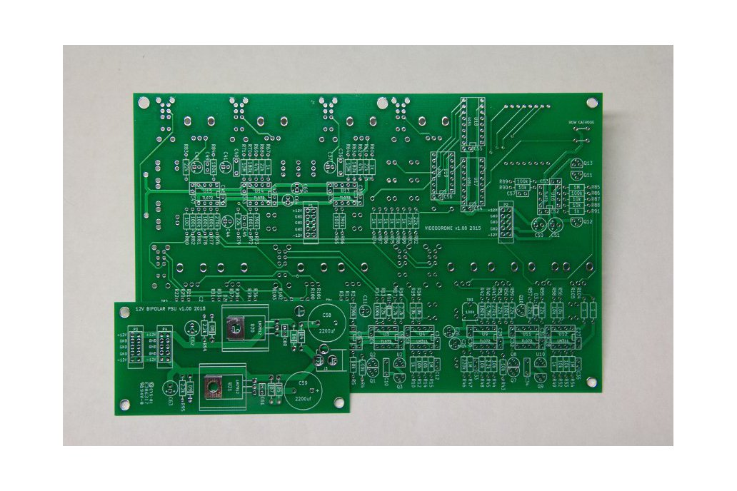 Videodrone  Drone and Lo-fi Video Synth PCB Set 1