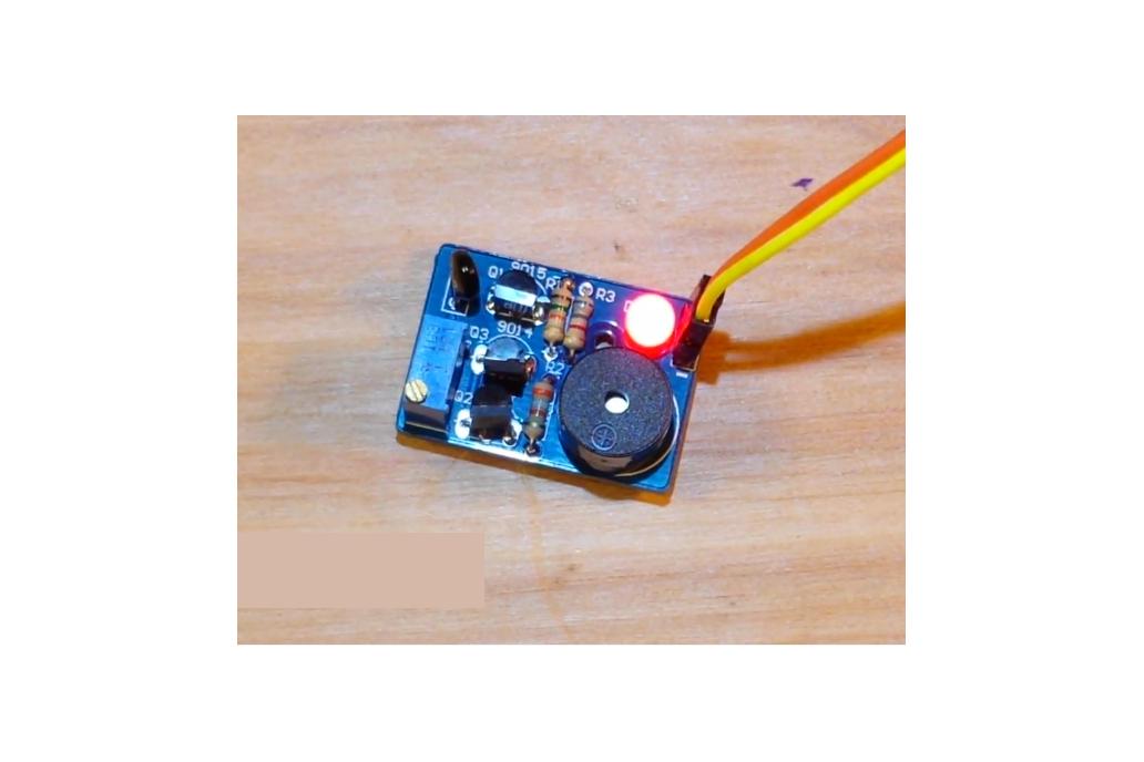 Temperature Control Sound Light Alarm DIY(5425) 2