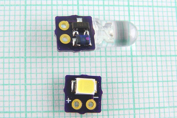 NANO - Joule Thief SMD DC/DC white Led