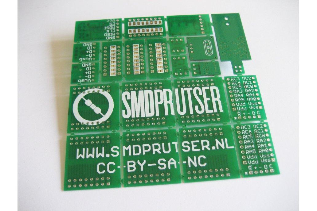 Breakable SMD prototype board 1