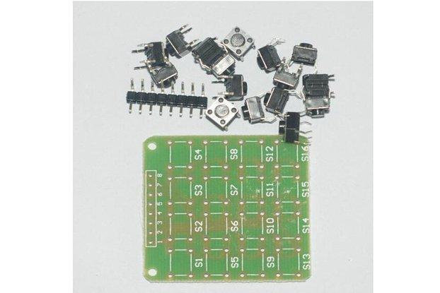 4 x 4 matrix keyboard DIY kit