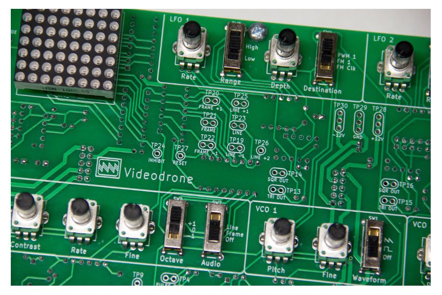 Videodrone  Drone and Lo-fi Video Synth PCB Set