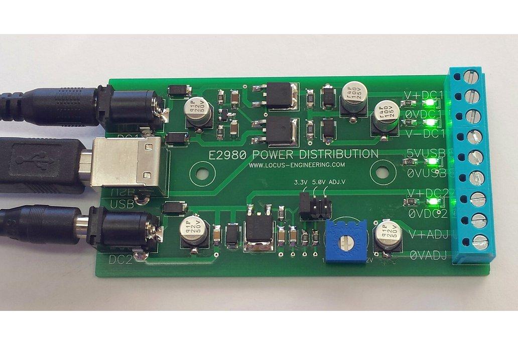 E2980 Power Distribution Board 1