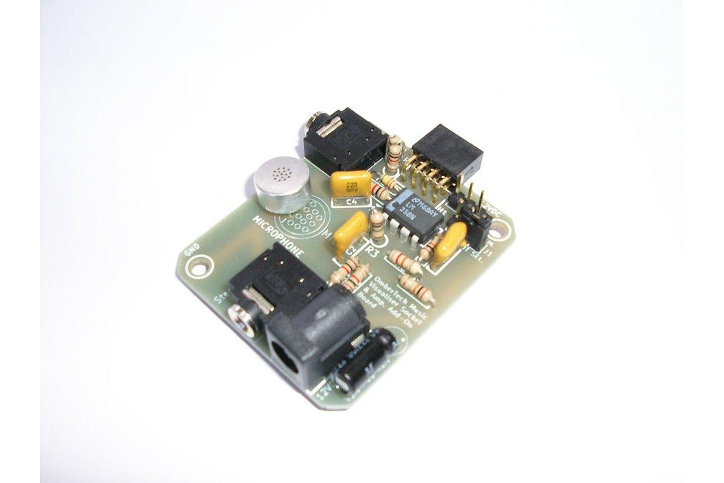 OctaBeat Socket & Mic. Add-On Board 1