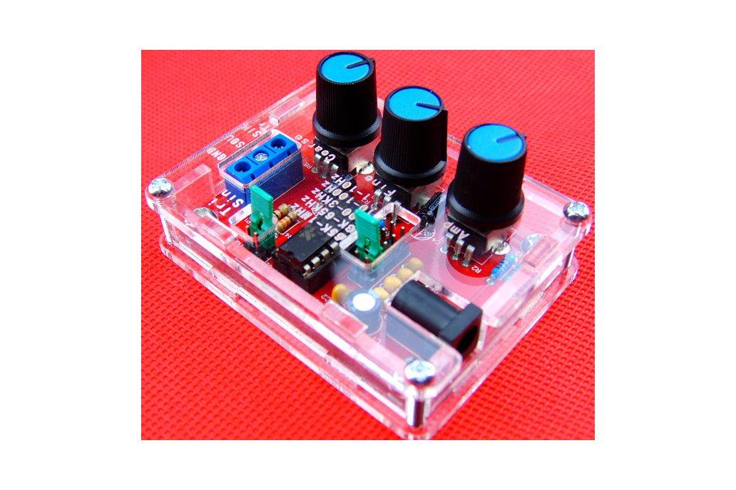 1Hz-1MHz  Function Signal Generator Sine Triag Sqr 1