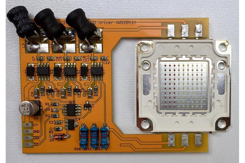 PixelFlood 100W RGB LED (WS2811 mega pixel) 1