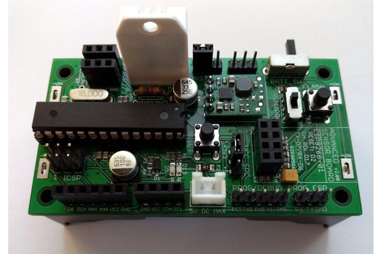 Battery-Powered Wifi Temp/Humidity Sensor v2