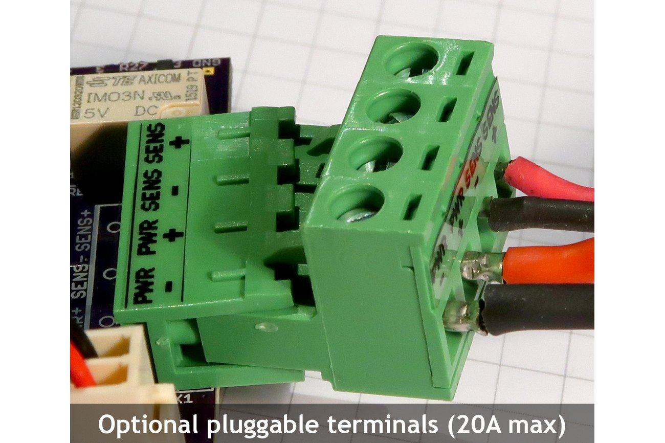 MightyWatt: 70W Electronic Load for Arduino