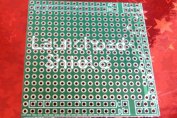 MSP-EXP430G Launchpad (Egel) shield (no parts!)