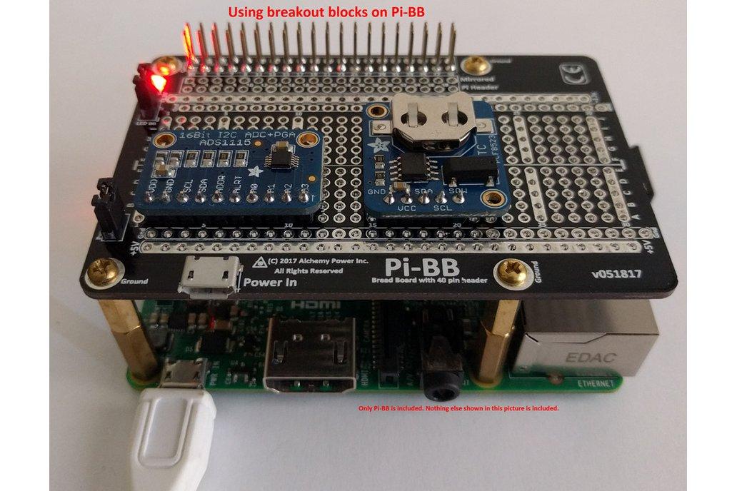 Pi-BB - breadboard for the Raspberry Pi 5
