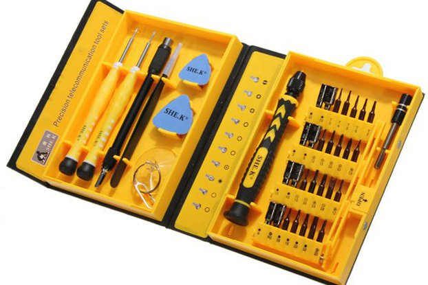 Professional Electronic Screwdriver Repair Kit
