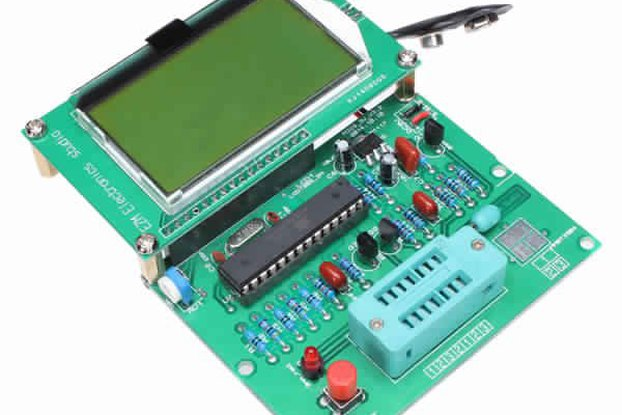LCD Backlight Digital Transistor Tester