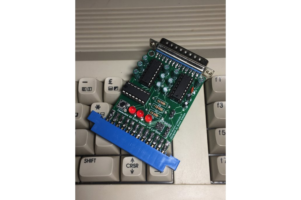Enhanced Commodore 64 RS232 Serial Adapter 1
