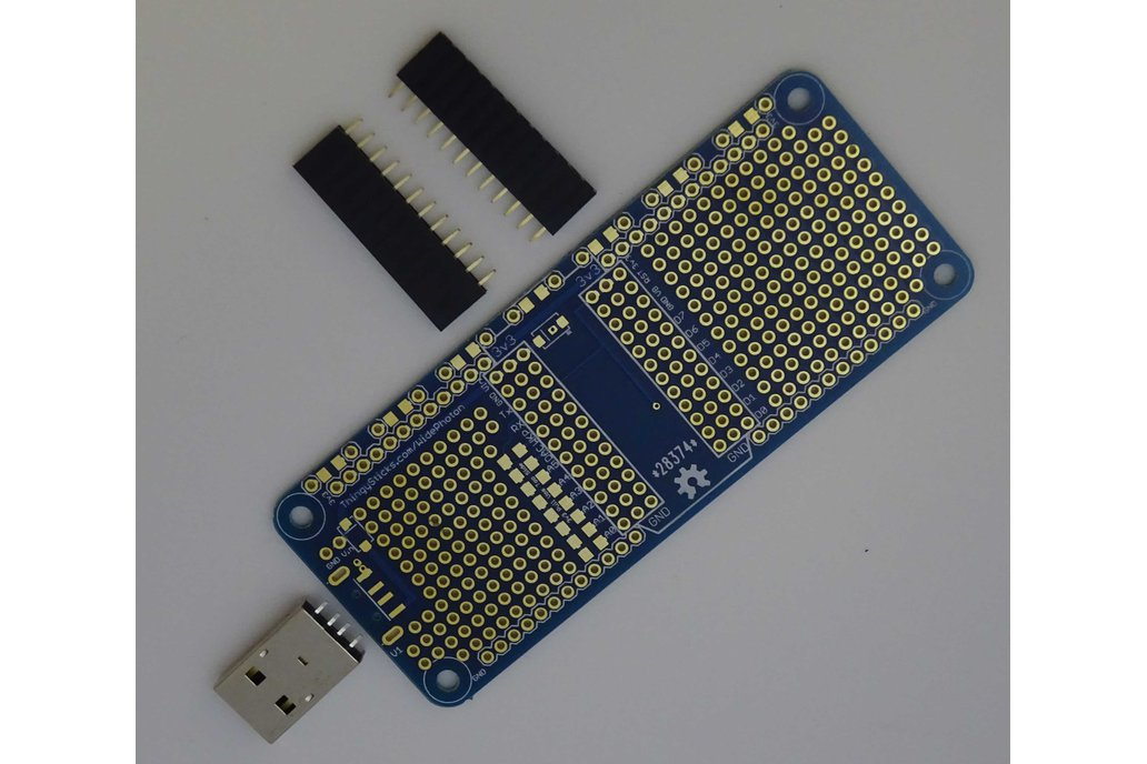 Prototype PCB for Particle Photon (Wide) 1