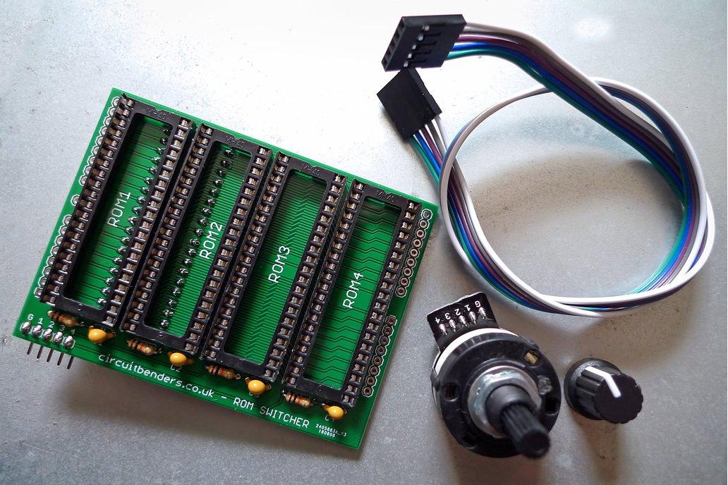 No solder ROM switcher kit for AMIGA kickstart 1