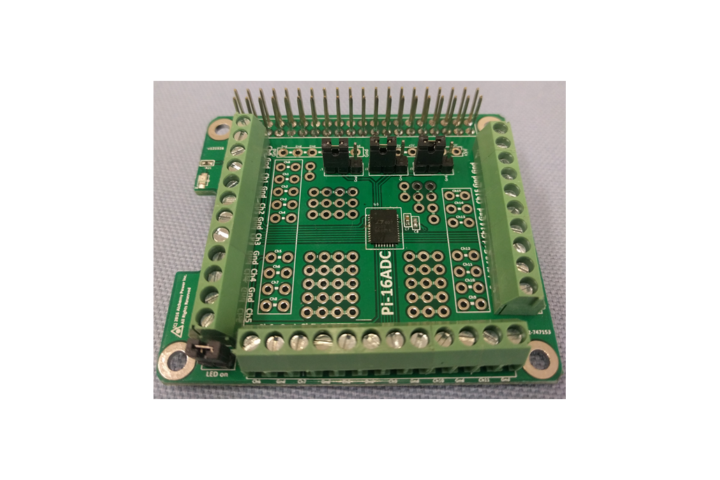 Pi-16ADC - 16 Channel, 16 bit ADC 1