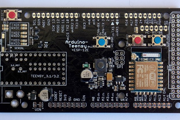 ARDUINO-TEENSY v4.2 with WIFI+BLUETOOTH+NRF24L01