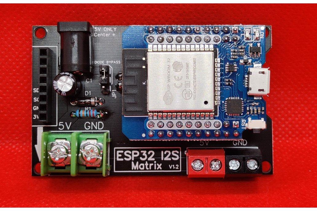 ESP32 I2S Matrix Shield 1