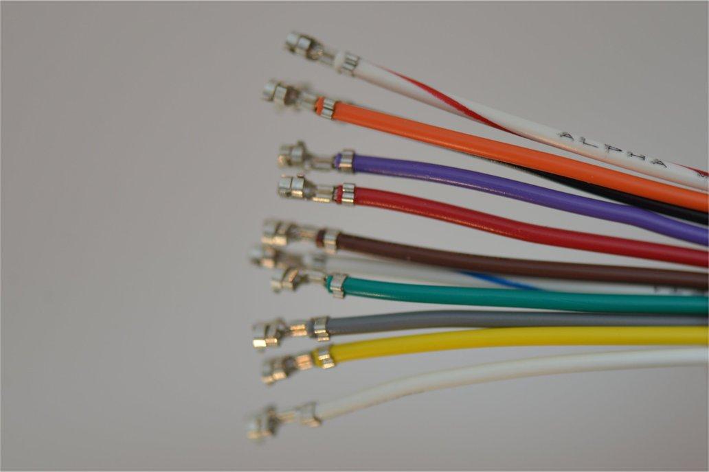 Premium Crimped Wires for JST XH 2.5mm Connectors 1