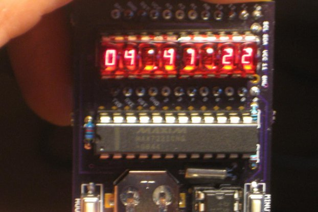 """Double bubble"" clock shield for ProMini"
