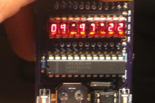 """""""Double bubble"""" clock shield for ProMini"""