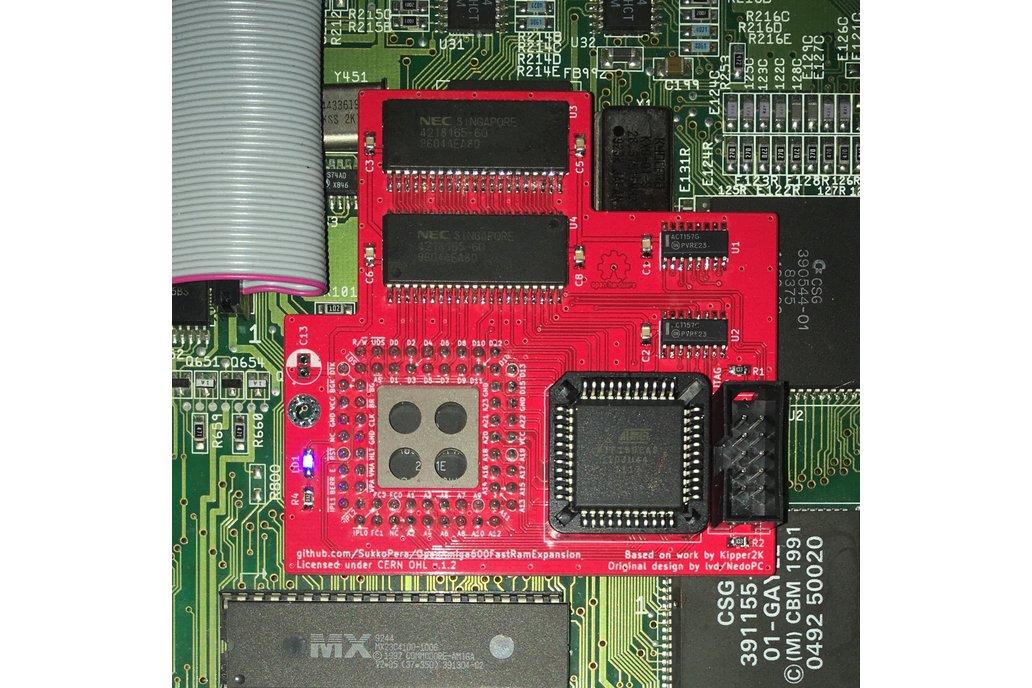 OpenAmiga600FastRamExpansion 1