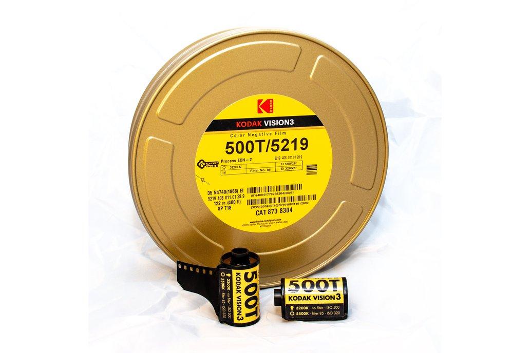 35 mm Kodak VISION3 500T/5219 Color Negative Film 1