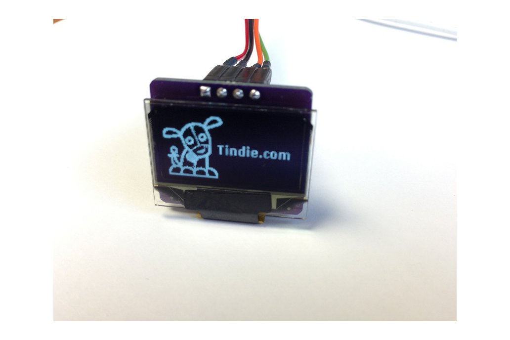 "0.96"" OLED i2c Display (3.3V only) 1"