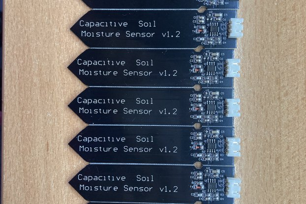 Capacitive soil moisture sensor, 9pcs