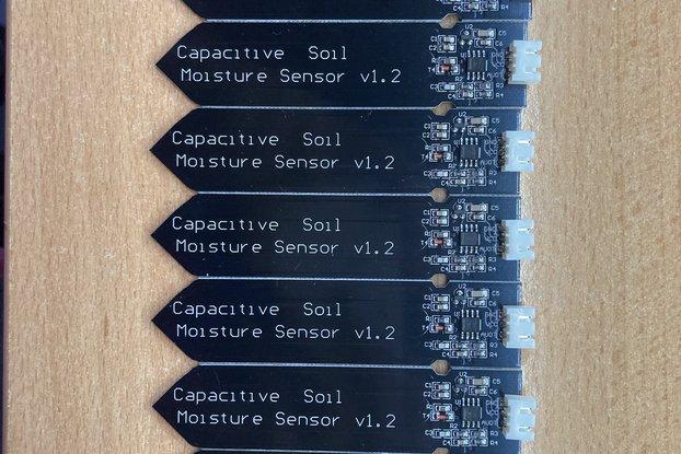Capacitive soil moisture sensor, 9pcs