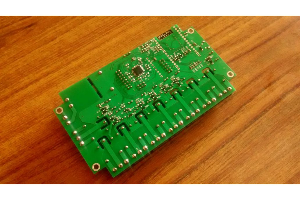 Node MCU ESP12F WIFI board with 8 Relay with case 4