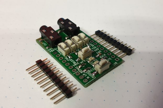 Breadboard adapter for BLK-MD-SPK-B