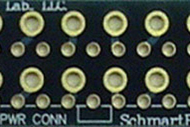 "Through Hole ATX Power Connector 0.5"" X 2"" Grid"