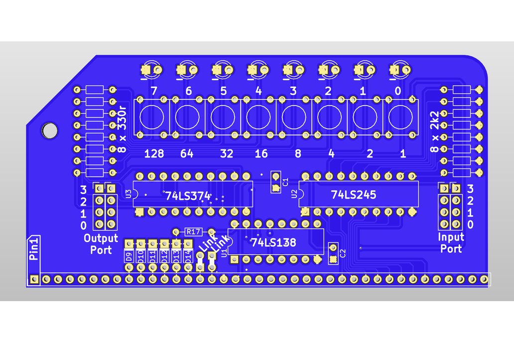 Digital IO Module For RC2014 Z80 Homebrew Computer 4