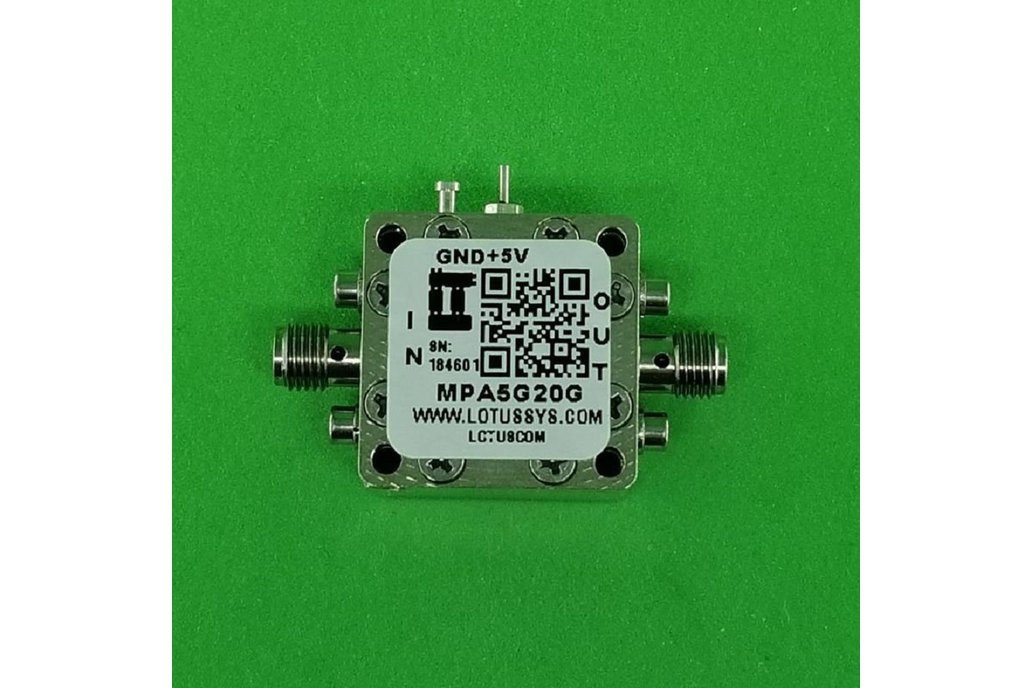 MEDIUM POWER AMPLIFIER 7.0DB NF 5GHZ TO 20GHZ 19DB 1