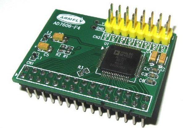AD7606 data acquisition module