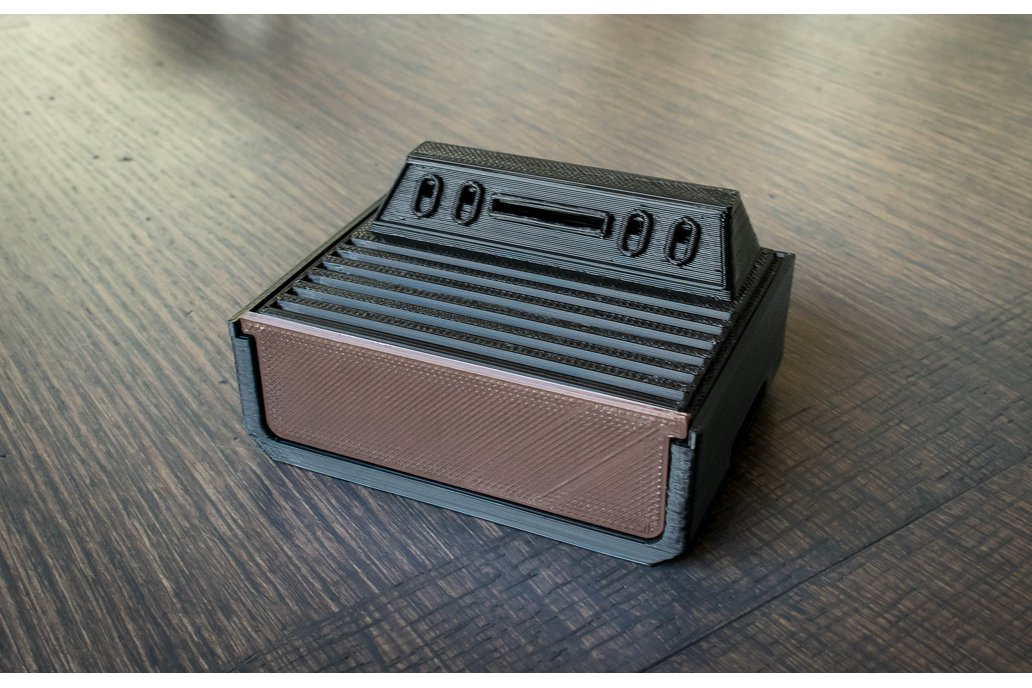 3D Printed Atari 2600 Case for Raspberry Pi 1