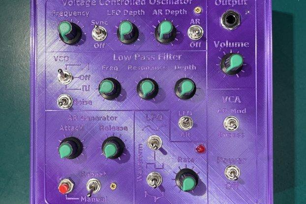 Homebrew Analog Sound Synthesizer Solder Build Kit