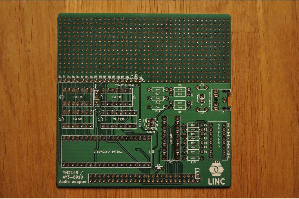 Z50AYMSound AY3-8910/YM2149 sound card 6