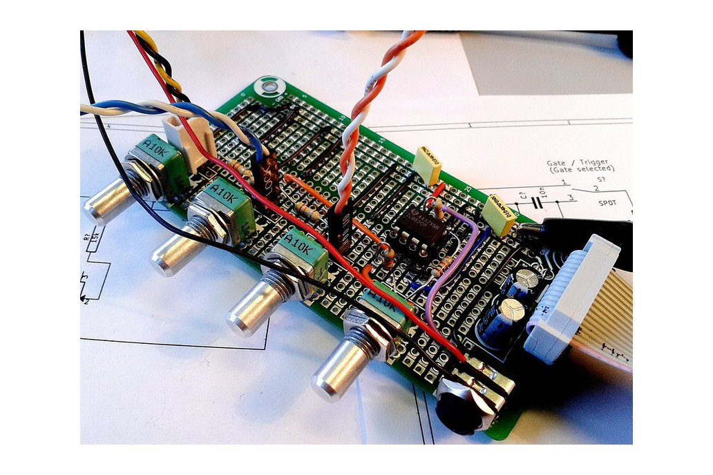 Eurorack Stripboard PCB 4