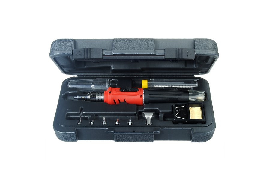 10 in 1 Gas Soldering Iron Tool Kit